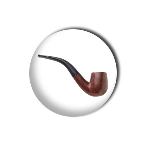 Pipe 1 inch// 25mm Button Pin Badge Sherlock Holmes Smoker Tobacco