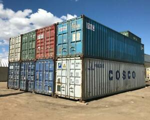 Used 40 ft Standard & High Cube Shipping Containers Edmonton Edmonton Edmonton Area Preview