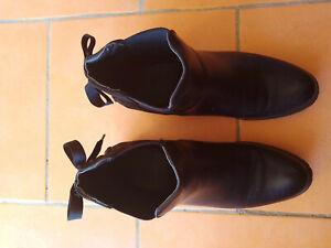"""Bottines pour femme neuves noir taille 40 """"Elara , Boots Chelsea"""""""