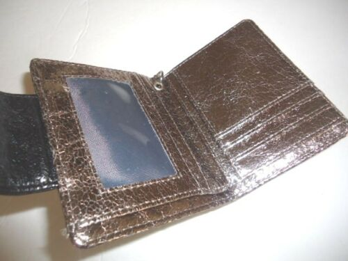 Kenneth Cole Reaction Metallic Wallet,Champagne