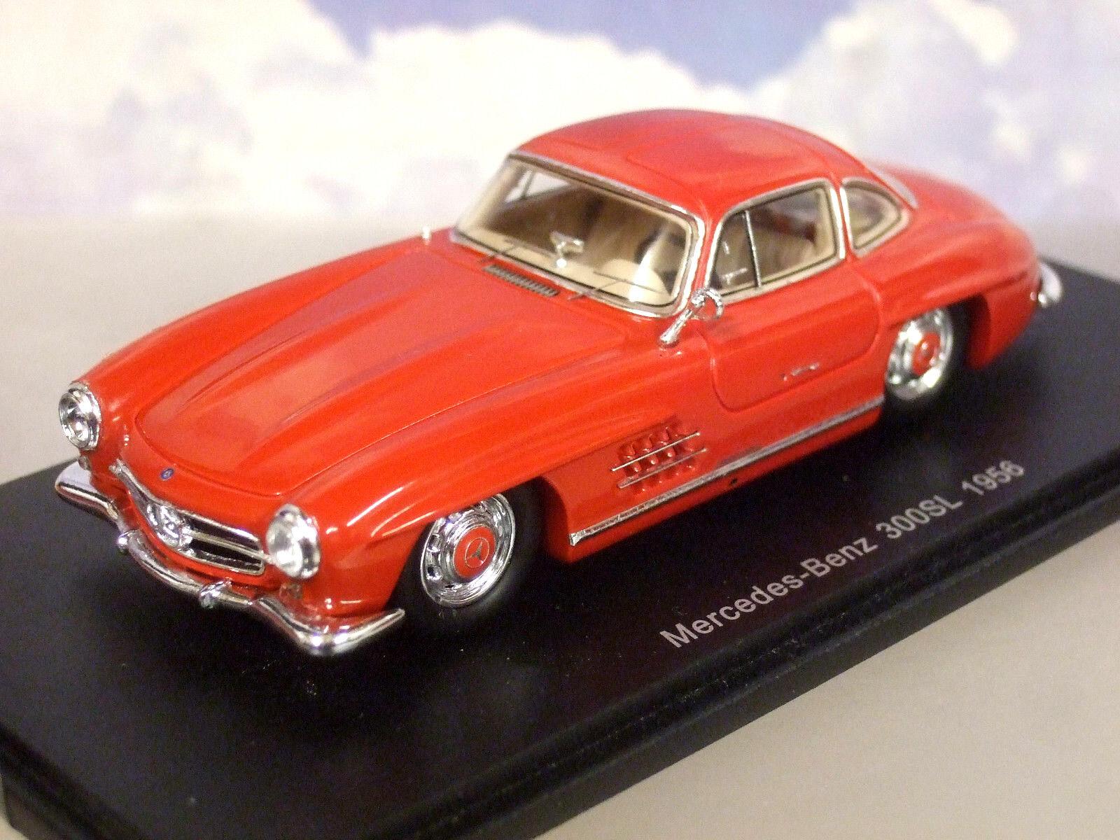 Eccellente Spark 1/43 Resina 1956 Mercedes-Benz 300sl Gullwing in Rosso S4959