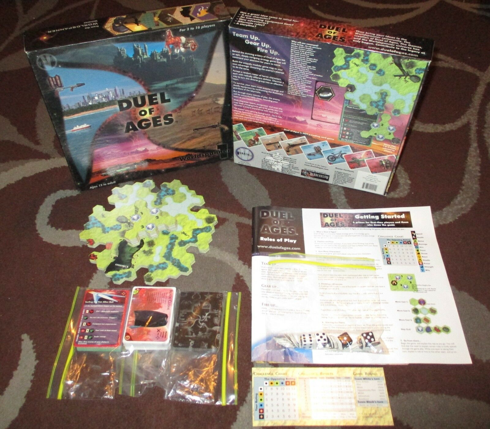 Duel of Ages Worldspanner 1  PAKIT tavola gioco Venatic 2002 DOA-A01  n ° 1 online