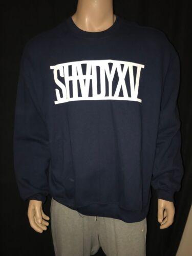 Shady Tee Blauw Slim Sweatshirt Mannen Eminem Shadyxv Authentiek Yyf7vb6g