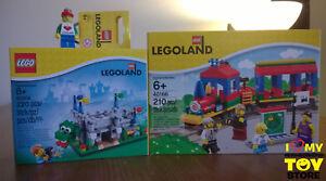 En stock - Lego 40166 40306 851332 Sets Legoland® Exclusifs (2016 8) Misb