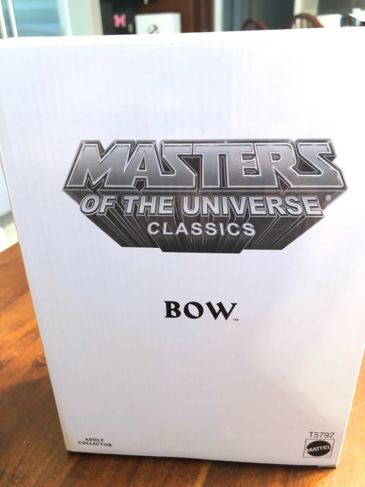 Masters of the Universe MOTU Bow matty collector collector collector mattel sealed mailer 963f6c