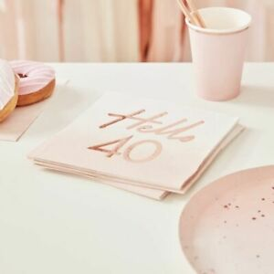 Hello-40-birthday-Napkins-Pink-Ombre-Rose-Gold-Blush-Party-Decoration-Milestone