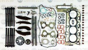 BMW-Moteur-Tete-Joint-Kit-Chaine-Distribution-Tete-Boulons-pour-N47D20A-N47D20B