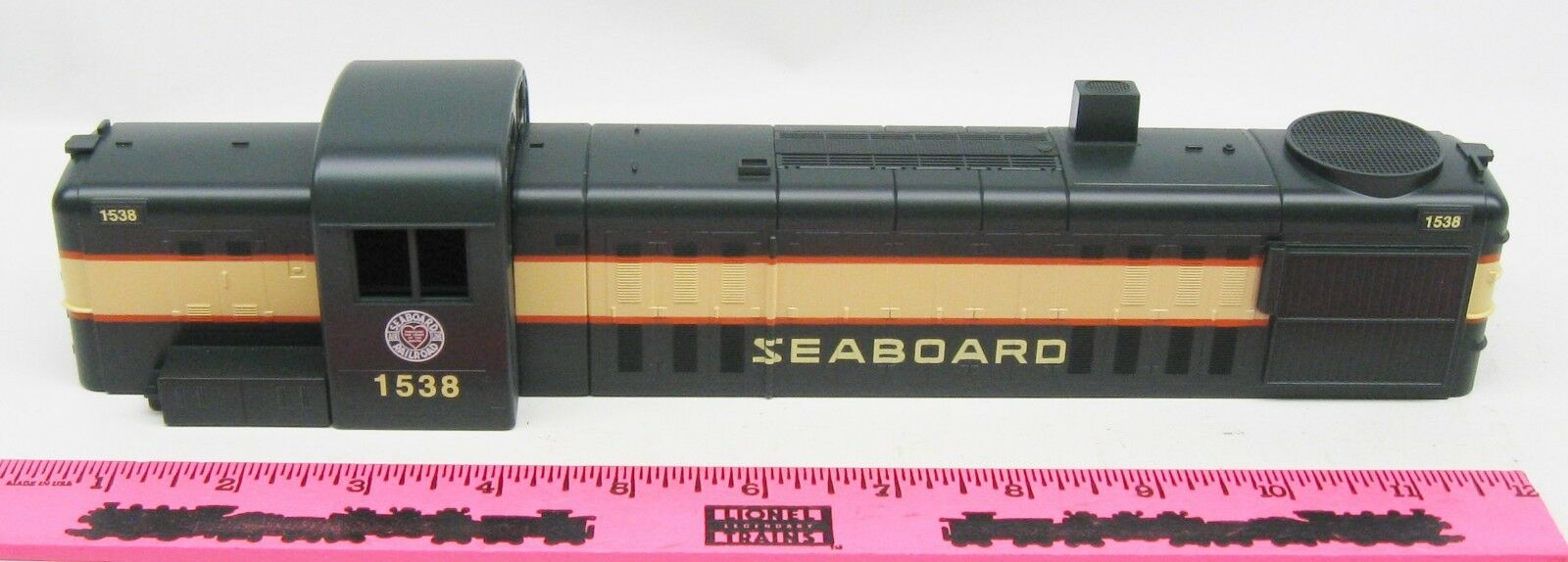 Lionel Shell  1538 Seaboard Diesel shell