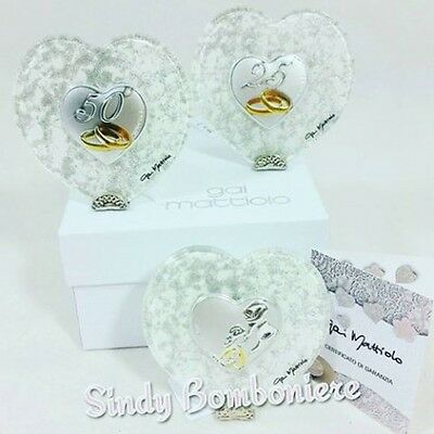 Bomboniere 25 Anni Matrimonio.Silver Favours Wedding Anniversary Wedding 25 And 50 Signed