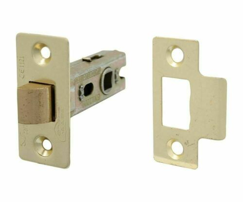 PERRY Shield 75mm CE Certifire Bolt Through Tubular Latch FD30 3 Finishes D1