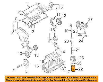 VW VOLKSWAGEN OEM 95-05 Jetta Engine-Oil Filter 06A115561B | eBayeBay