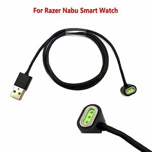 Para-Razer-Nabu-Smartwatch-USB-Cable-de-Carga-Dock-Cargador-de-Cable-de-Datos