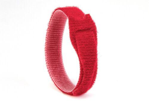 facile à utiliser 10 x 12mm x 20cm multi-couleur Velcro ® marque one-wrap réutilisables cravates