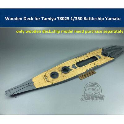 TMW 1//350 Wooden Deck for Tamiya 78030 Japanese Battleship Yamato Model