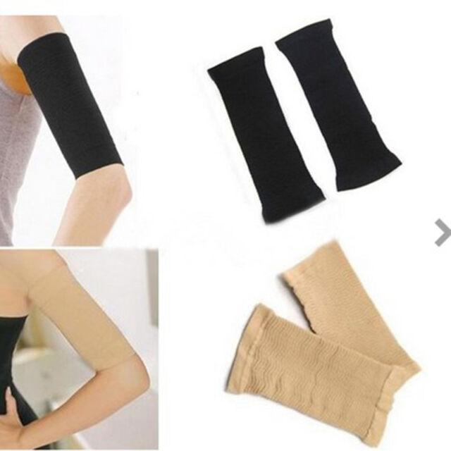 1 Pair Women Slimming Weight Loss Arm Shaper Cellulite Fat Burner Wrap Belt Hot