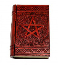 Pentagram Book safe Secret Stash Card Box hidden compartment Incense holder