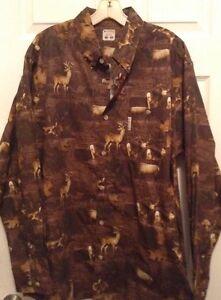 Columbia-PHG-Hunting-Shirt-Mens-Sz-L-Camo-Deer
