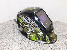 Hobart Impact Series Welding Helmet Skull Amp Crossbones Green Amp Black A X