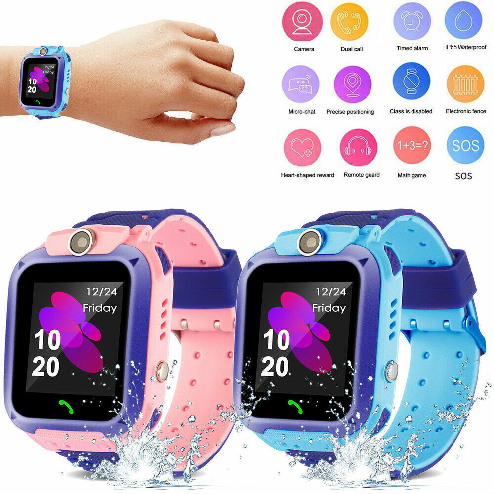 Anti-lost Good Watch GPS Tracker SOS Name GSM SIM Xmas Presents For Little one Youngsters