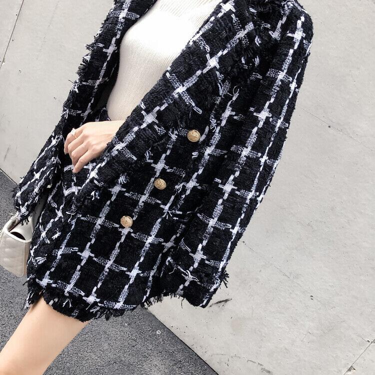 Black And White Tweed Suit Noir Blanc Tweed