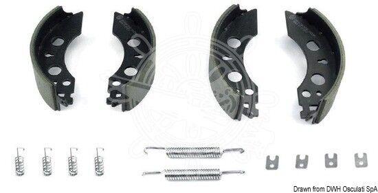 Osculati Set Bremsen für Hänger Knott 203216-47 203x40