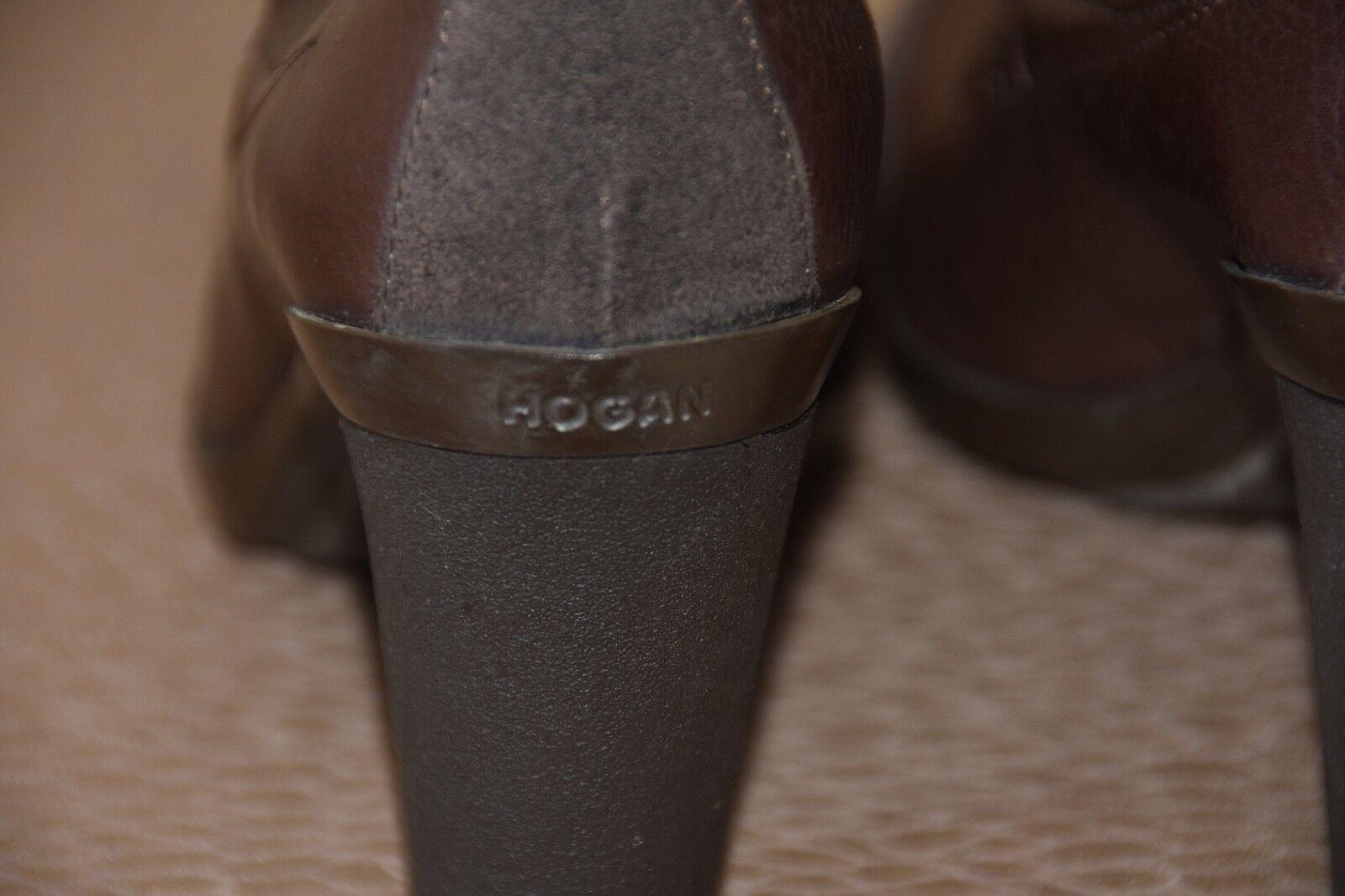 Hogan en en en cuir souple & Daim pointure 9 e55260