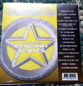 Legends-Karaoke-CDG-5th-Dimension-amp-Mamas-amp-Papas-220-Oldies-17-Songs-CD-G