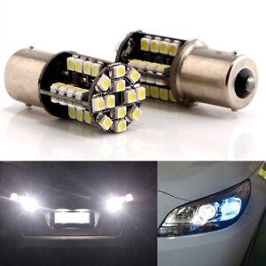 1156-BA15S-P21W-SMD-44-LED-bombilla-luz-freno-lamparas-coche-Canbus-Blanco12V