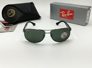 Ray-Ban-Aviator-RB3502-004-58-Men-039-s-Sunglass-POLARIZED-Classic-Green-G-15-61mm