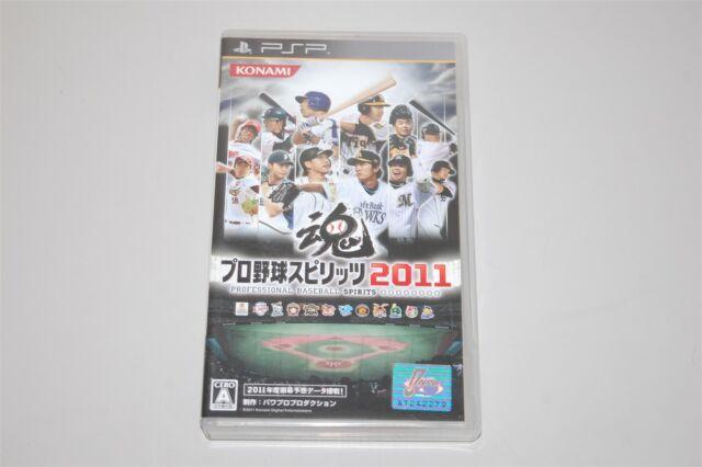 Pro Yakyu Spirits 2011 Japan Sony PSP game