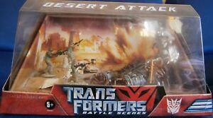 Transformers Scènes De Bataille Desert Attack Hasbro