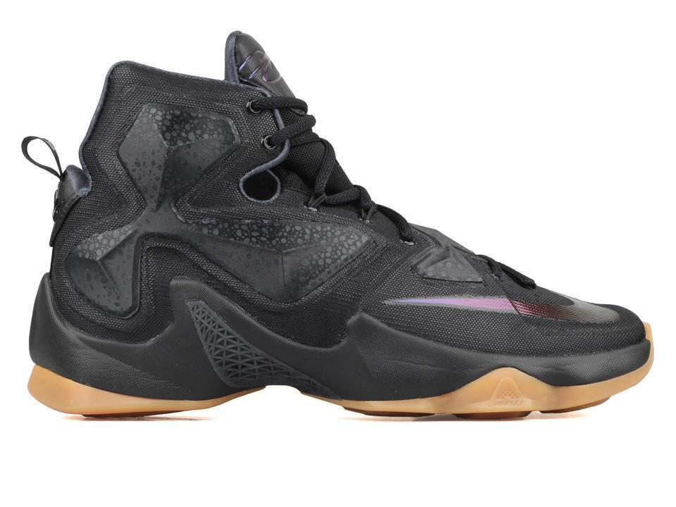 Nike Lebron XIII 13 Black Lion Anthracite Gum 807219-001 Mens Size 10