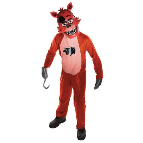 Enfant Cinq Nuits de Freddy Foxy Costume Taille moyenne 8-10