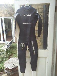 Men-039-s-Orca-S1-Full-Length-Wetsuit-Large-Size-8-Hardly-Used
