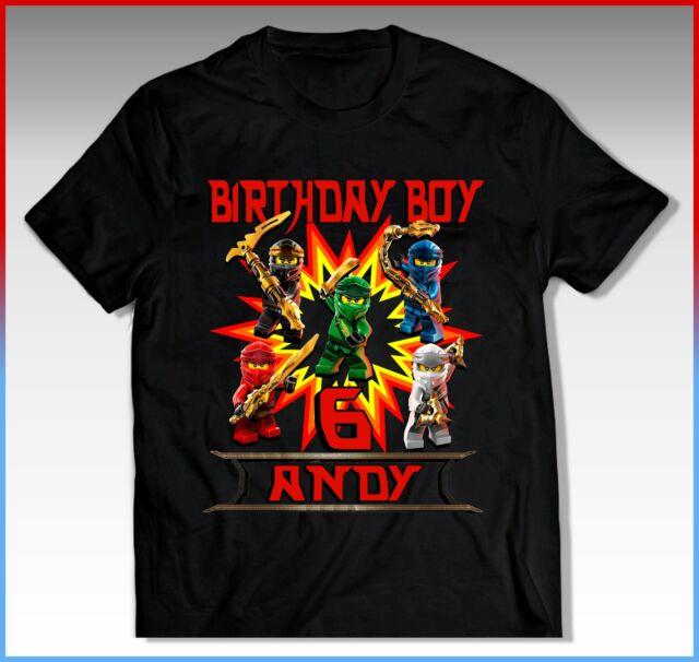 ninjago birthday shirt ninjago birthday tshirt ninjago