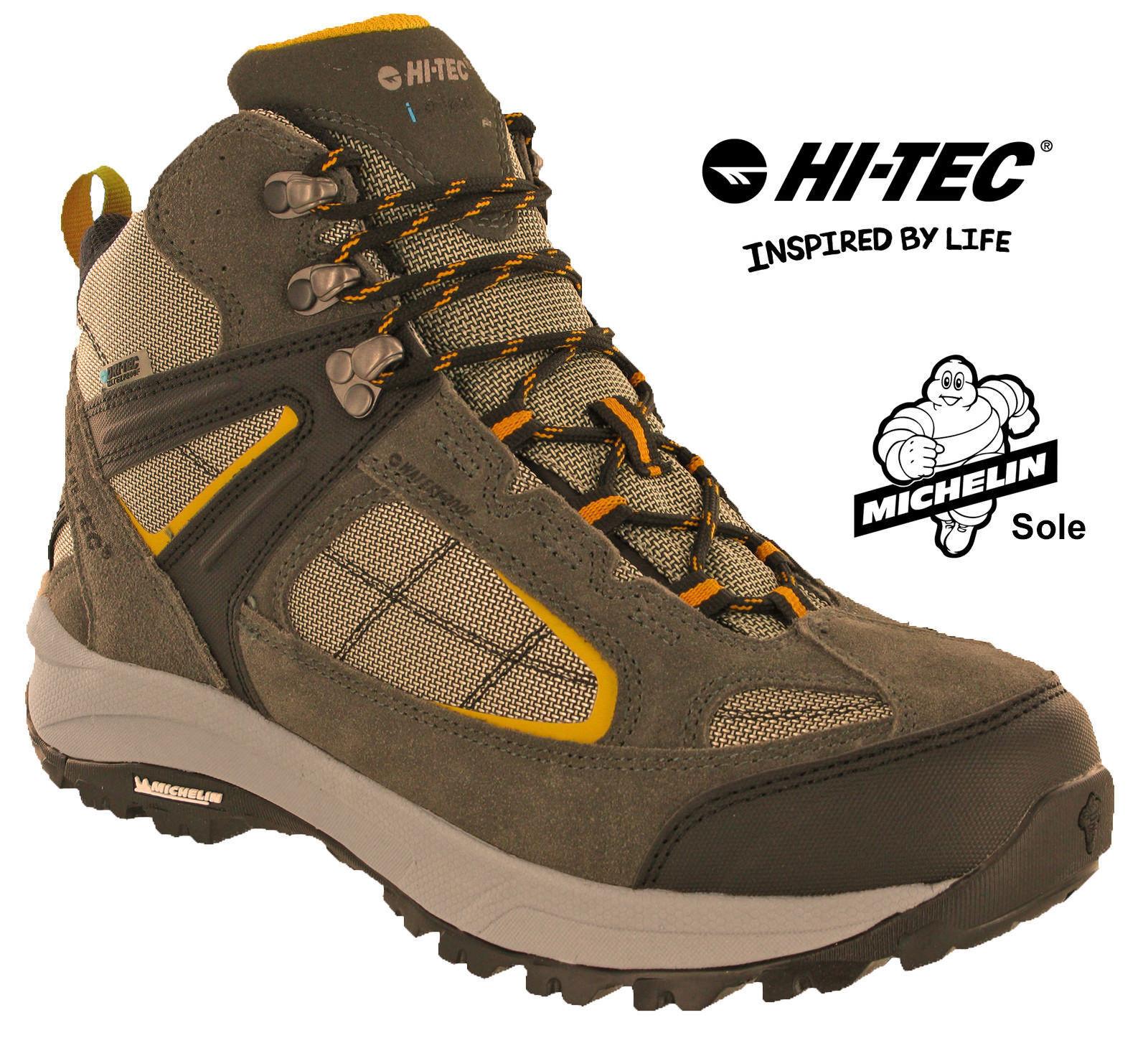 Hitec Hitec Hitec Escursionismo Stivali Impermeabili Altitudine VI Michelin da Pizzo 712 066