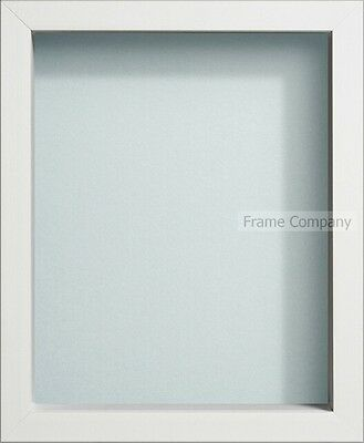 Frame Company Radcliffe Range White Wooden Box Frames in Various Sizes