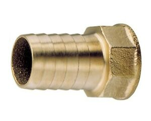 "choose thread and hose size Brass female hosetails 3//8/"" and 1//2/"" bsp range"