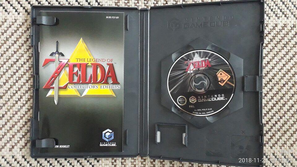 The Legend of Zelda Collectors Edition, Gamecube,