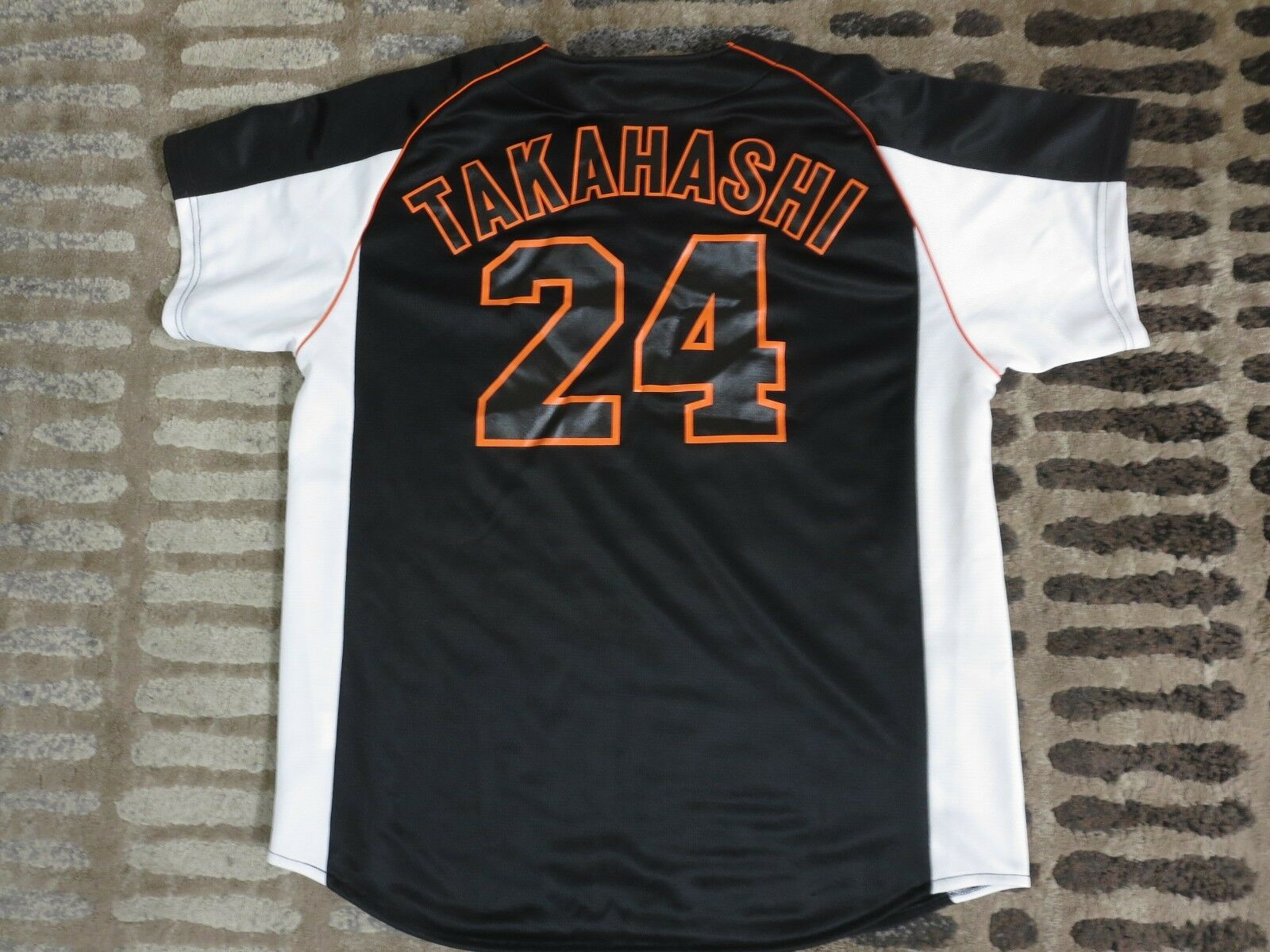 Yoshinobu  Takahashi  Yoshinobu 24 Yomiuri Giants Baseballtrikot XL Herren 03409f