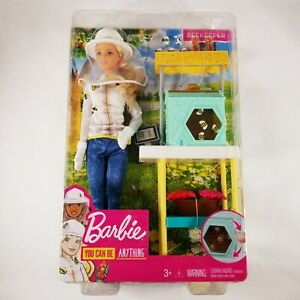 Barbie You Can Be Anything Beekeeper Doll PlaySet - New