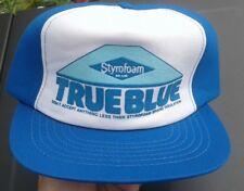 5d96942c item 5 trucker hat baseball cap TRUE BLUE STYROFOAM retro style nice  quality rare rave -trucker hat baseball cap TRUE BLUE STYROFOAM retro style  nice ...