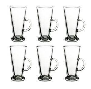 6-x-Latte-Macchiato-Glaeser-Kaffeeglaeser-Henkelglas-Teeglas