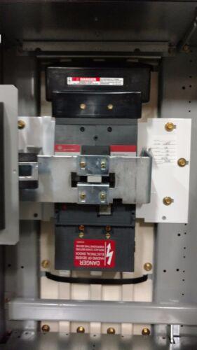 "600V 400A 8000 LINE GENERAL ELECTRIC 24/"" MCC CIRCUIT BREAKER FEEDER BUCKETS"