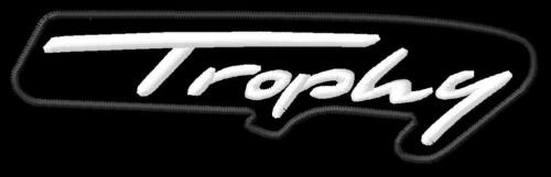 TRIUMPH TROPHY SE 900 1200 ricamate iron-on patch