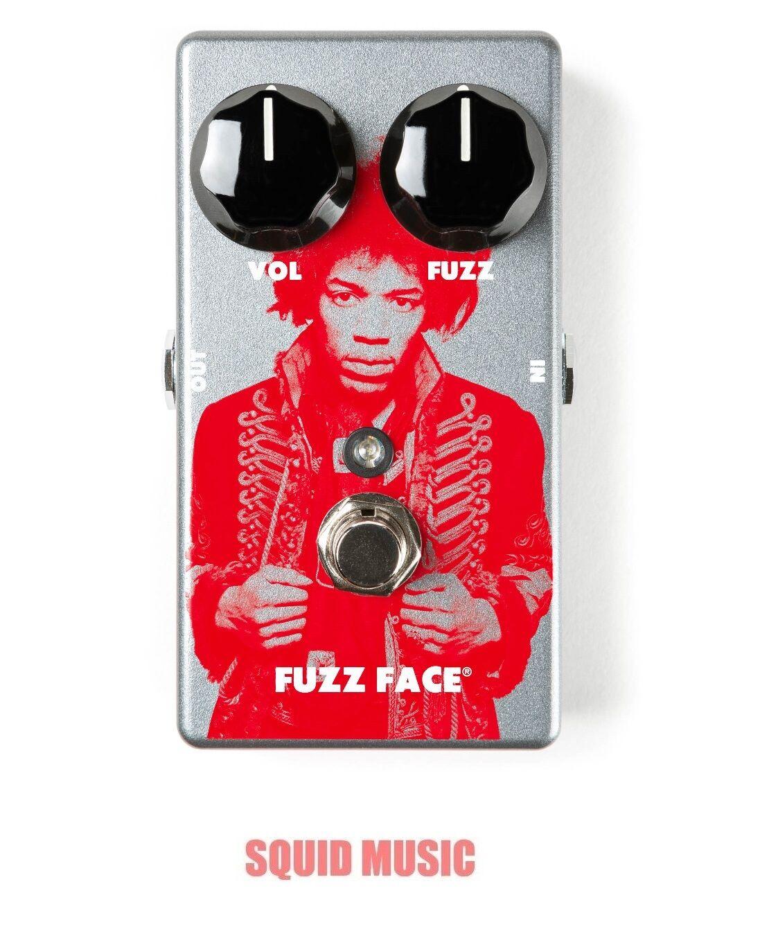 Dunlop JHM5 Jimi Hendrix Fuzz Face Distortion Pedal Rep Dallas Arbiter OPEN BOX