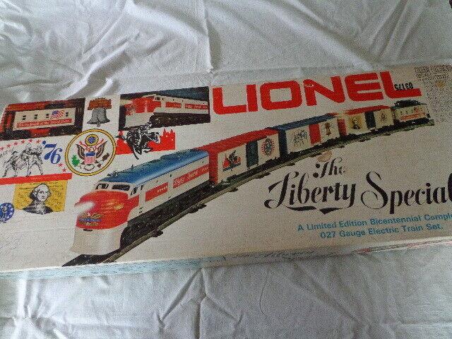 Lionel 027 la libertà specialeeE BICENTENARIO ELECTRIC TRAIN SET