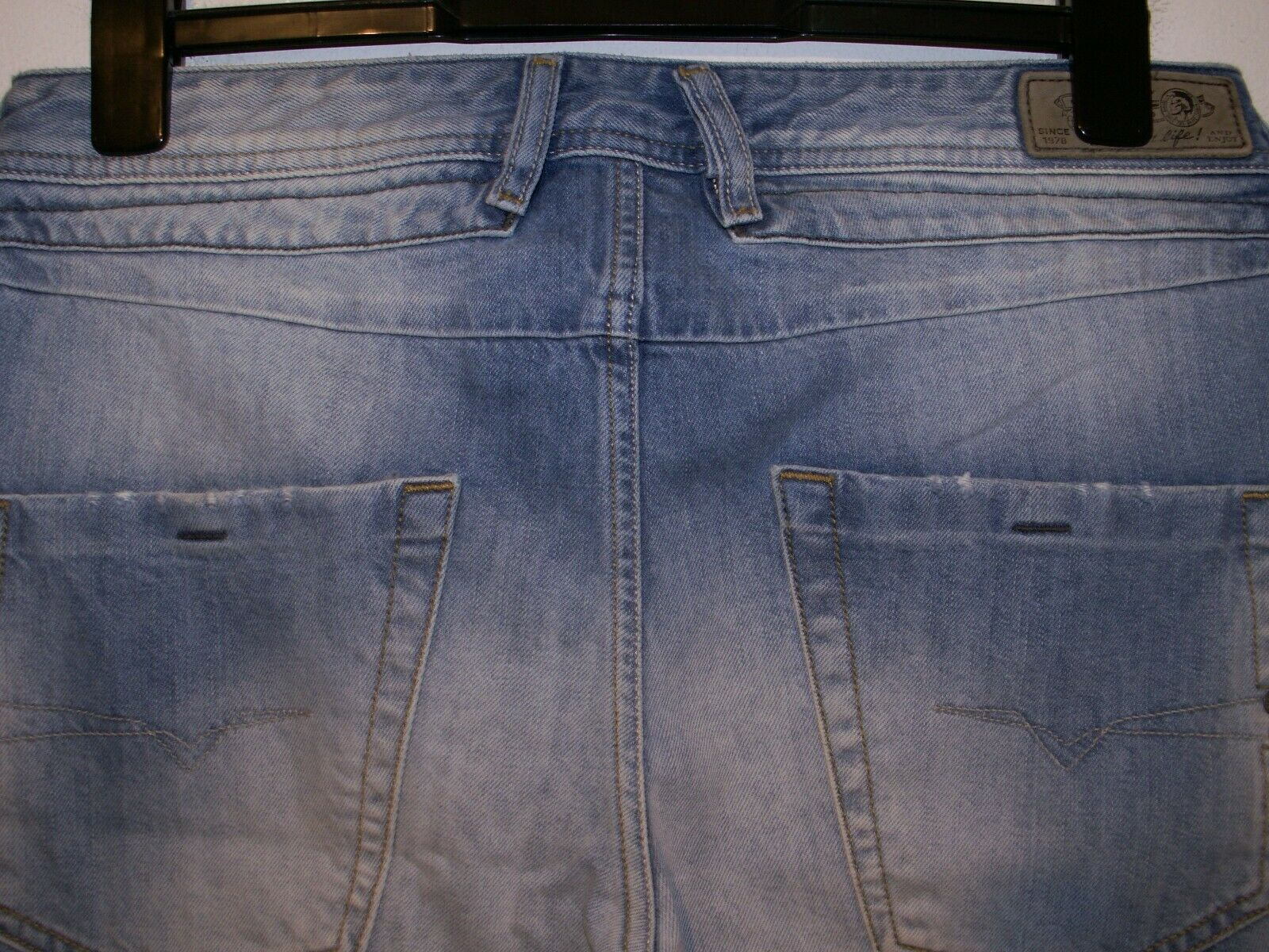 DIESEL BELTHER REGULAR SLIM-TAPErot JEANS 0827F W32 L32 2016  sale  | Charmantes Design