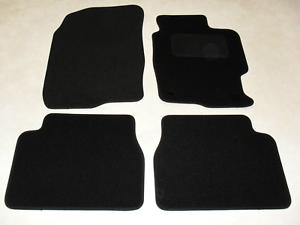 Mazda 6 2002-2007 Fully Tailored Car Floor Mat Set in Black