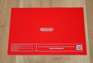 Nintendo-switch-publicidad-Promo-catalogo-cuaderno-folleto-folleto